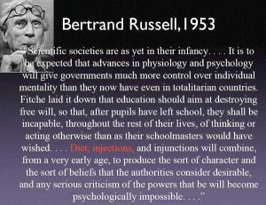 Morlocks - Bertrand Russell Quote 1