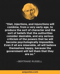 Morlocks - Bertrand Russell Quote 3